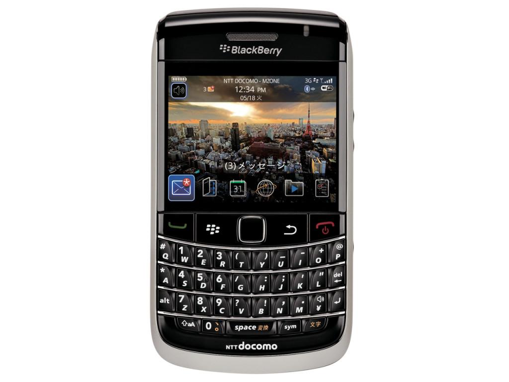 docomo BlackBerry Bold 9700画像