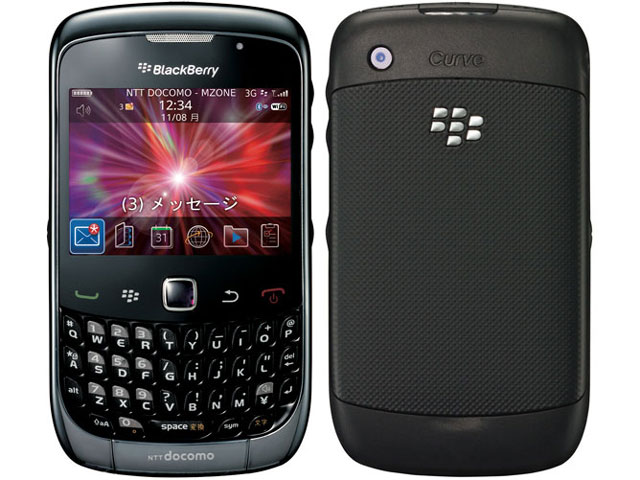 docomo BlackBerry Curve 9300画像