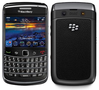 docomo BlackBerryR BoldTM画像