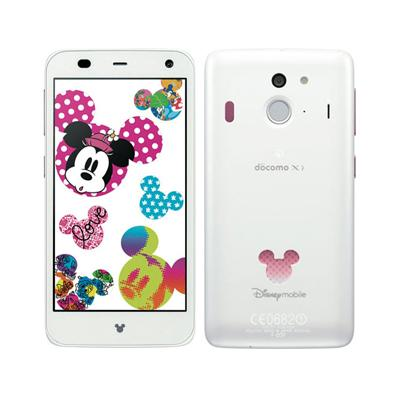 docomo Disney Mobile on docomo F-07E画像