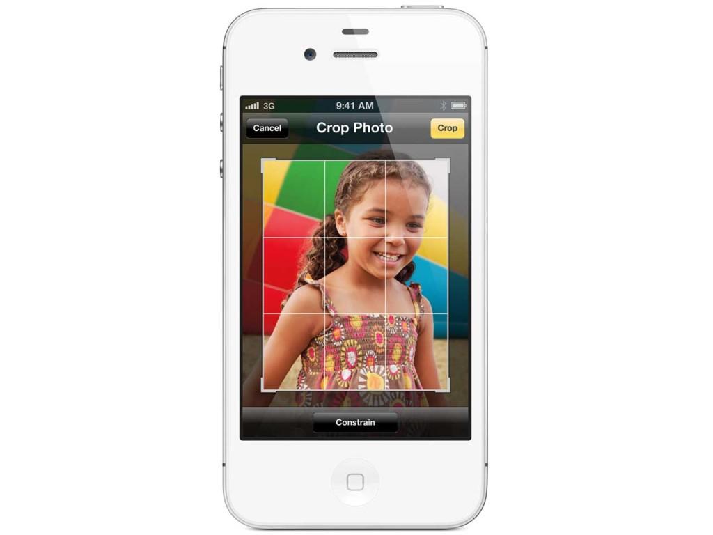 au iPhone 4S画像