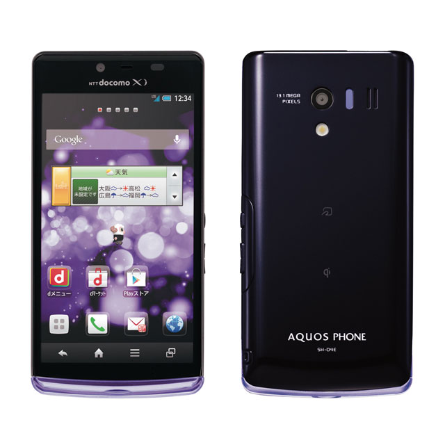 docomo AQUOS PHONE EX SH-04E画像